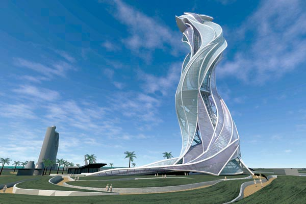 Architecture Design In Dubai unbuilts: international architectural design competition | tall