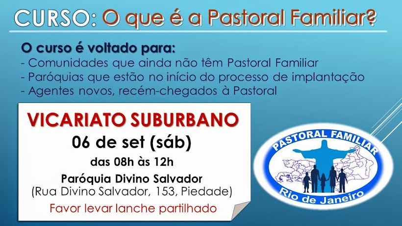 Conheça a Pastoral Familiar
