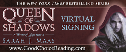 Queen of Shadows Virtual Signing