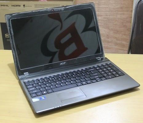acer aspire 5750z laptop bekas 2 jutaan