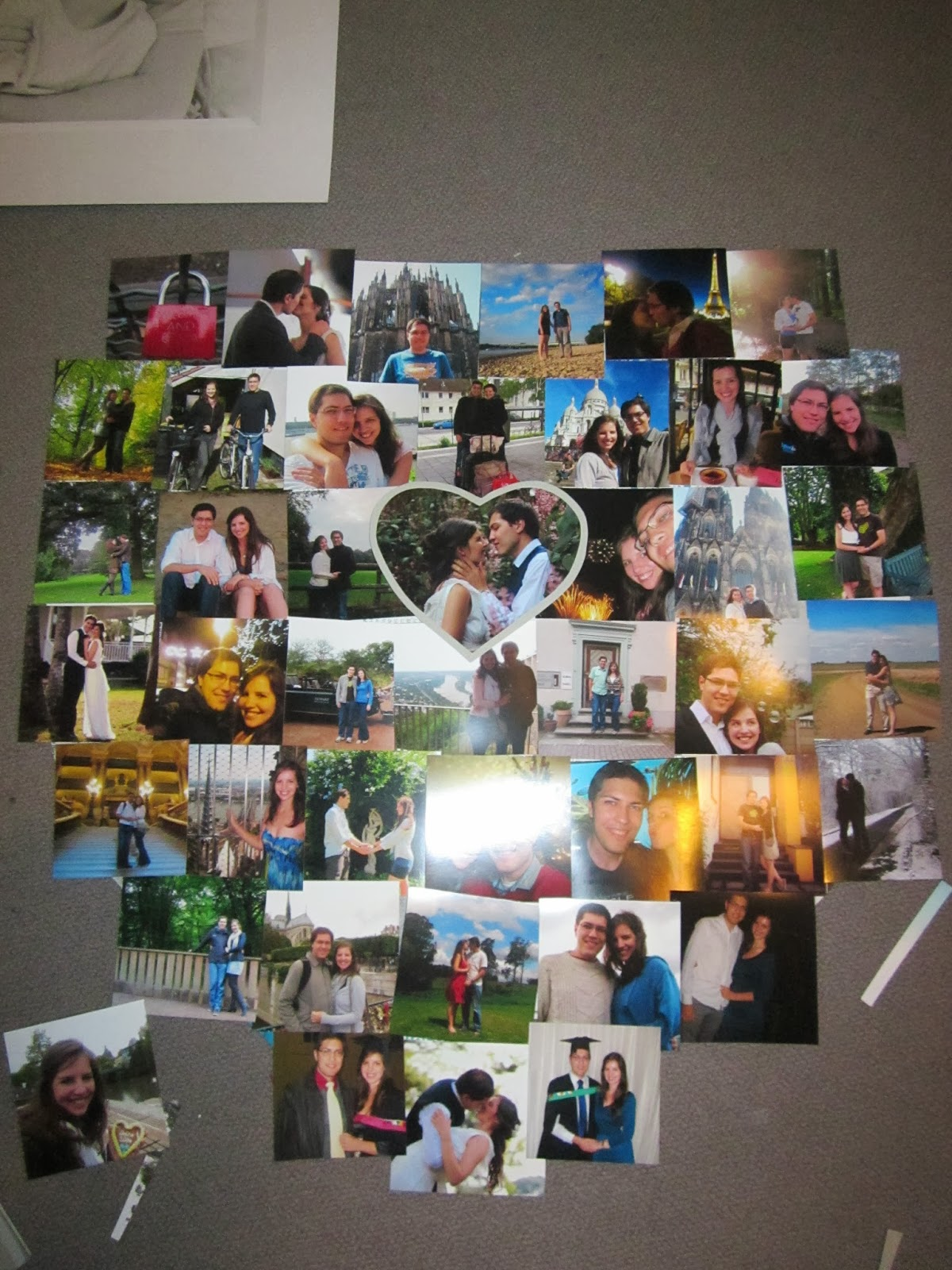 DIY wall hang picture