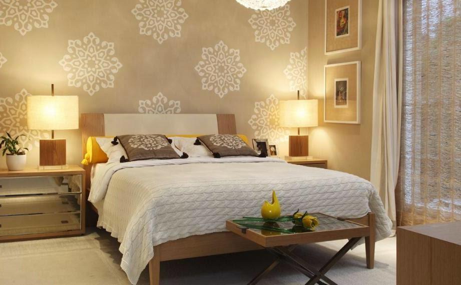 Papel De Parede Quarto Como Aplicar ~   de uma casa de forma pr?tica e criativa ? o uso de papel de parede