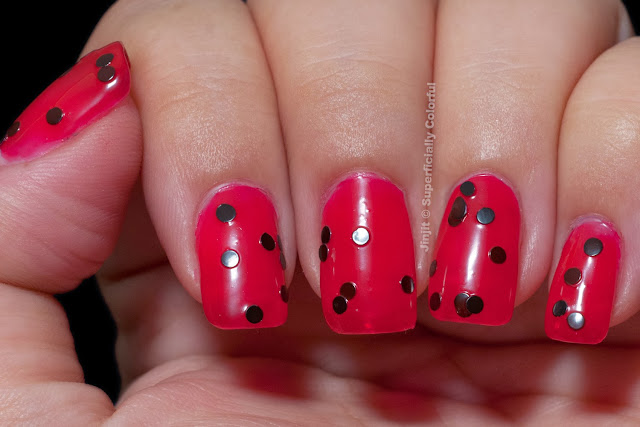 The Nail Junkie Animal Collection Lady Bug