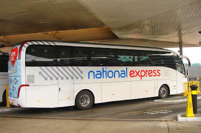 national express coach, heathrow airport