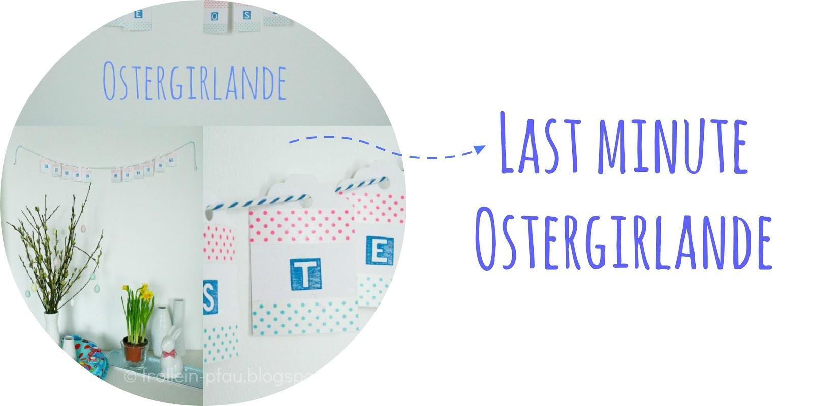 Ostern, Osterdeko, Oster DIY, Bastelideen zu Ostern, Osteridee, DIY, selbstgemacht, Ostergirlande, Etiketten