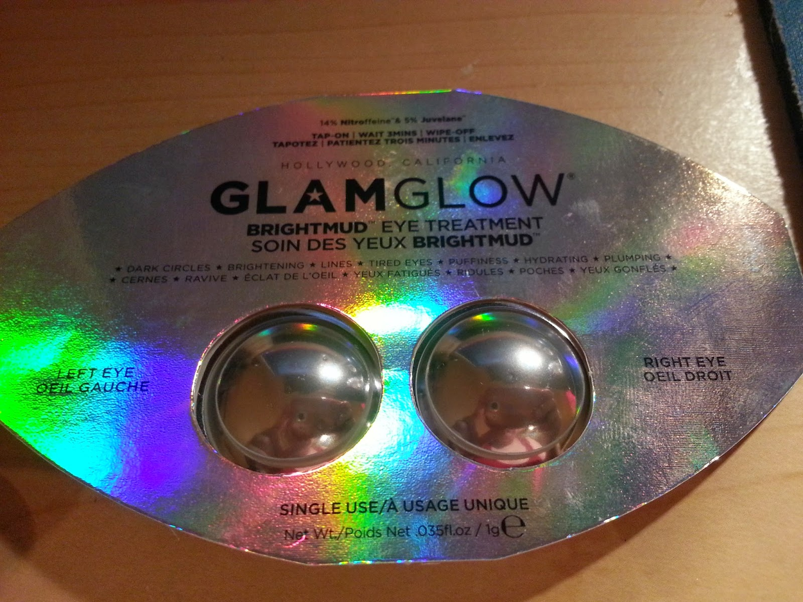 deidres discoveries glamglow brightmud eye treatment review