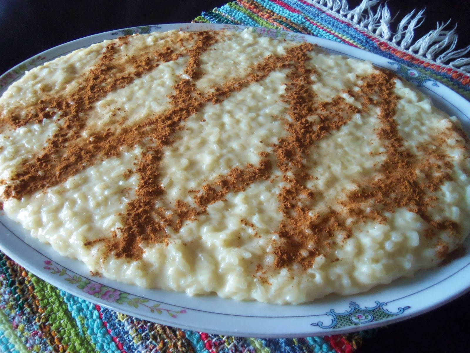 rice pudding doce sweet rice pudding portuguese rice pudding recipe ...