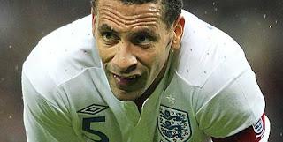 Rio Ferdinand di Timnas Inggris
