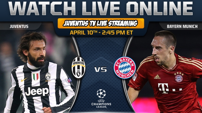 Wallpaper Tv Live Streaming UEFA League Champions Juventus vs BAyern
