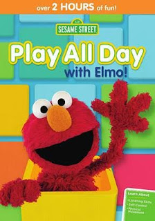 Sesame street play with elmo all day dvd giveaway for Elmo arts and crafts