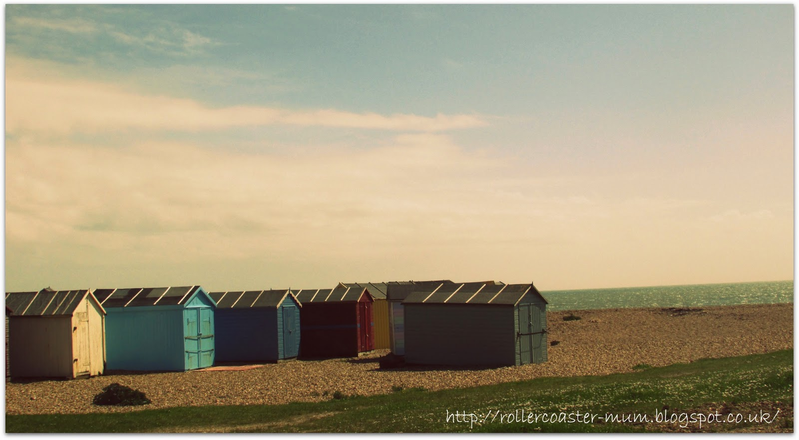 colourful beach huts, Hayling Island