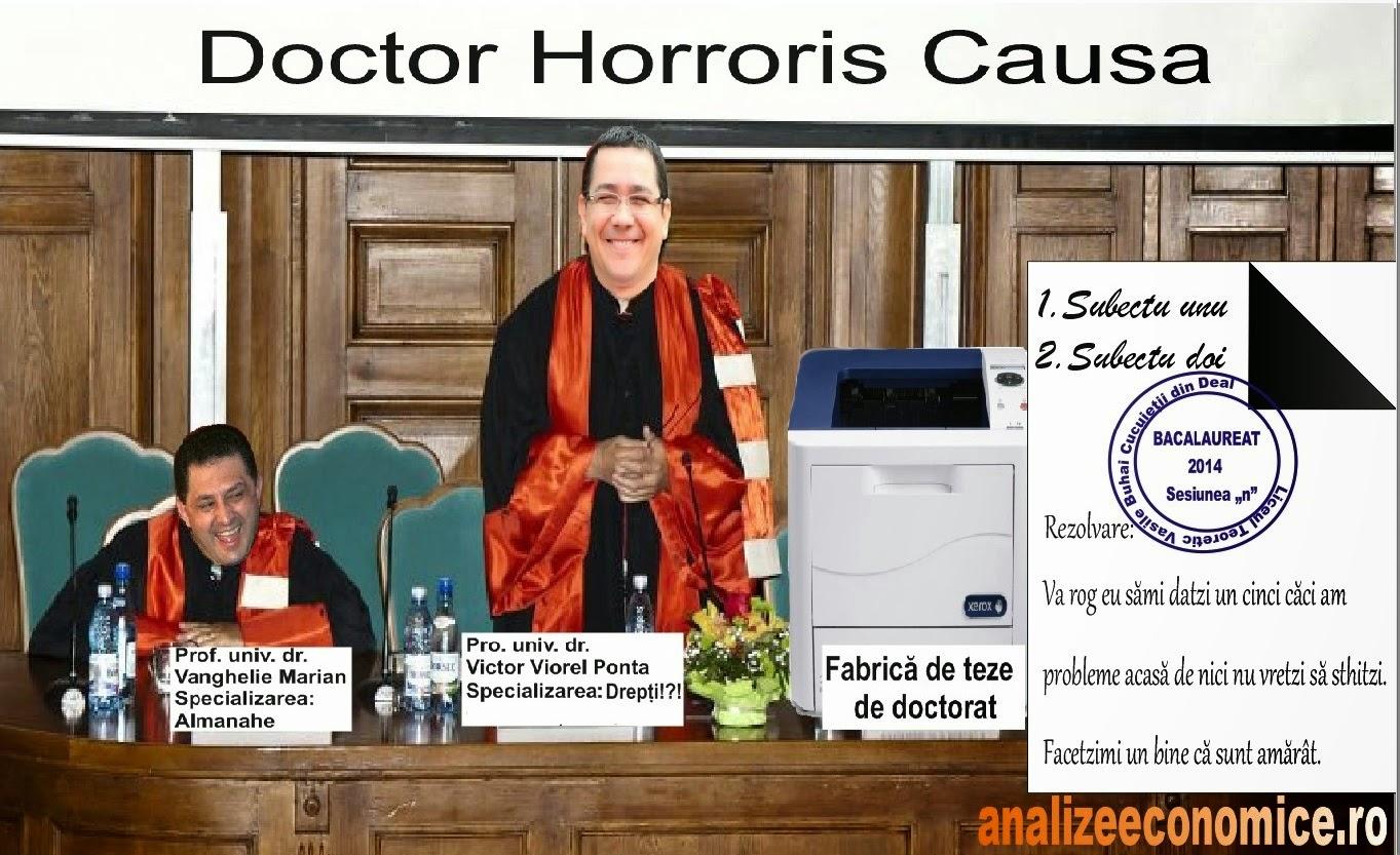 Studenții și doctorii fără bac