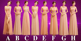 Auspicious Eight-Design Superior Quality Pink Bridesmaids Maxi Dress
