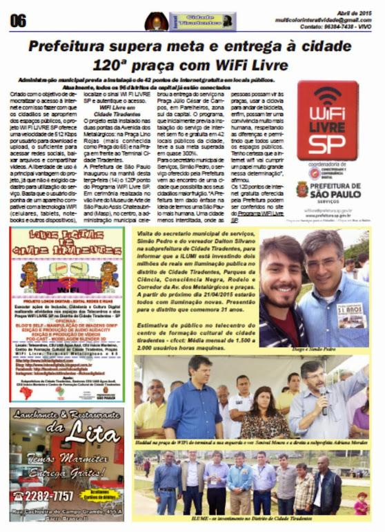 Jornal Cidade Tiradentes 55/