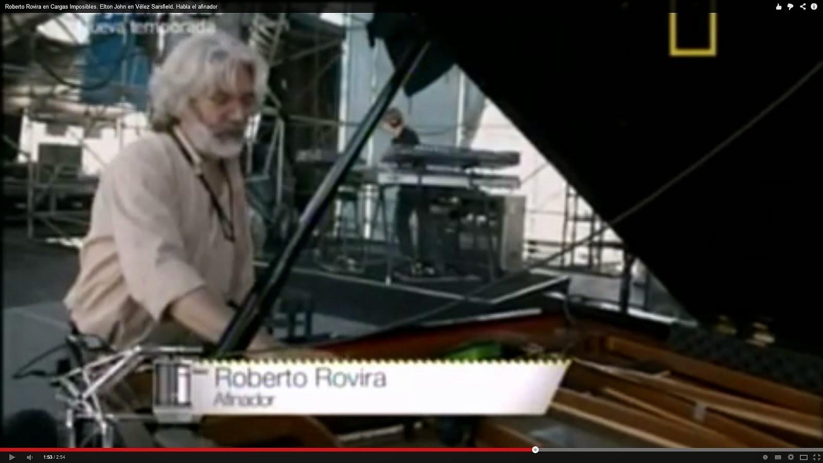 Roberto y el Yamaha CF de Elton John