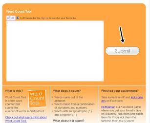 Cara mengetahui Jumlah kata pada Postingan blog