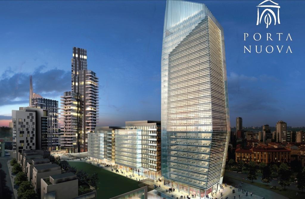 Urbanfile milano porta nuova nuovi renders for I nuovi grattacieli di milano