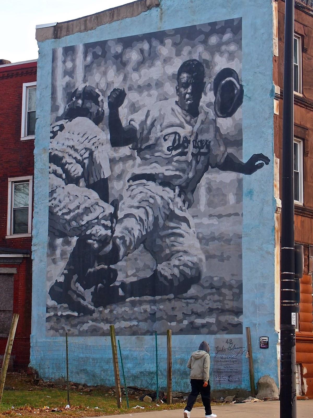 Dr dick 39 s report for Dr j mural philadelphia