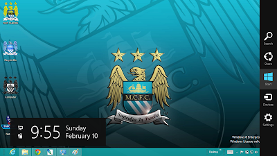 Download Manchester City Fc Theme For Windows 8