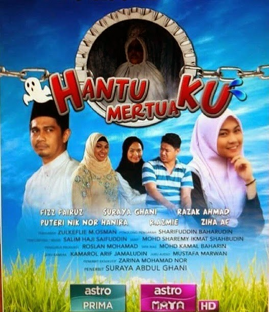Hantu Mertuaku, 2015, Full Telemovie, Tonton Drama, Movie, video, TV Series, TV Streaming Online.