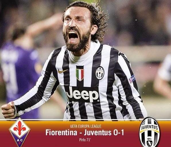 Fiorentina - Juventus 0-1 Andrea Pirlo