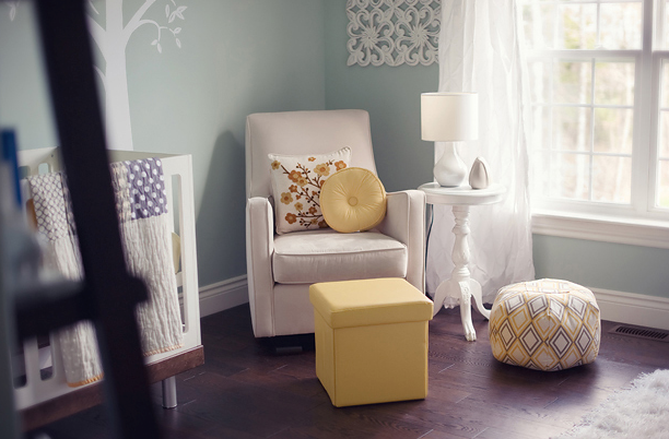 Arredo Neonato Ikea: Una nuova camera da letto shabby chic interiors.