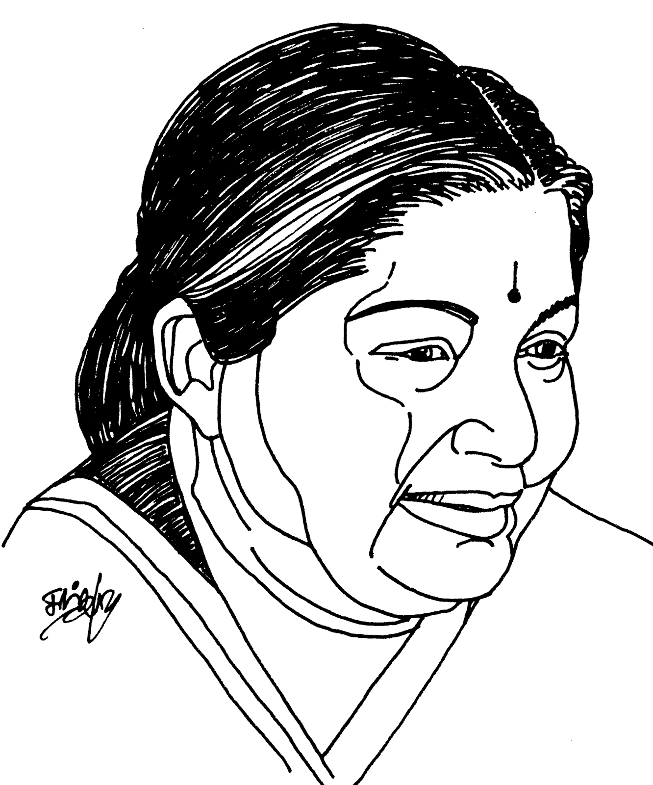 Drawing Lines With Css : Tamil cliparts leaders of tamilnadu