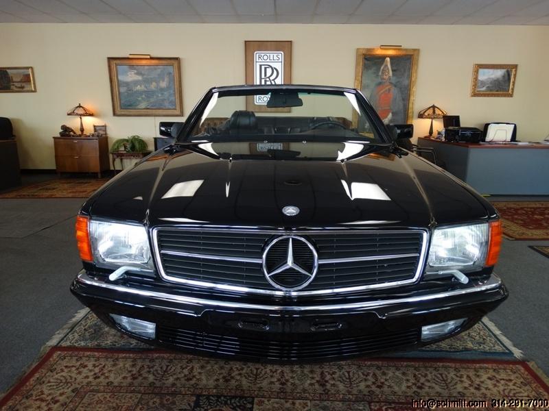 What About A Chop Top 1985 Mercedes Benz 500 Sec Convertible