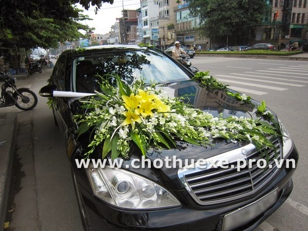 Địa chỉ thuê xe cưới giá rẻ uy tín ở Hà Nội 2