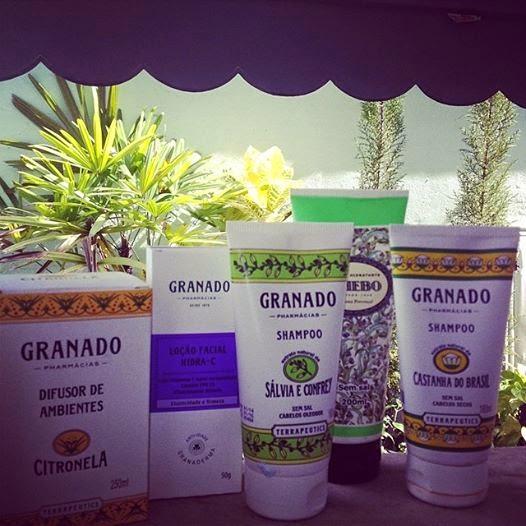 Ambiente com fragrâncias naturais da Granado
