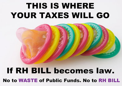 Condoms and RH Bill