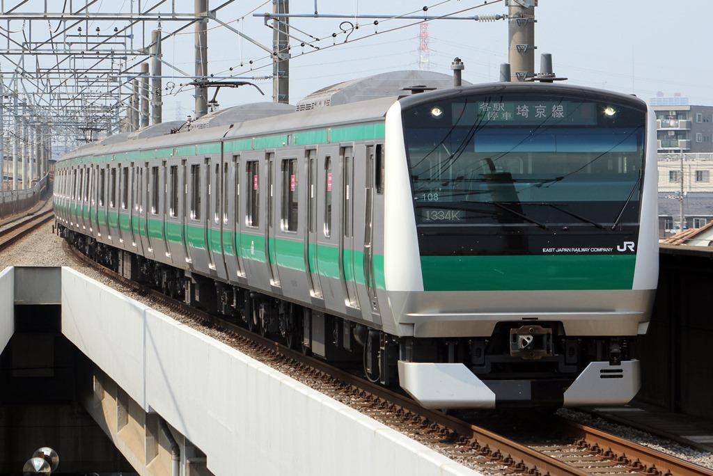 発車オーライ! 発車オーライ!: 埼京線E233系 初体験! skip to main... 発