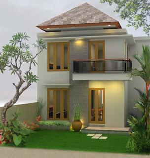 contoh gambar rumah minimalis 2 lantai sederhana terbaru