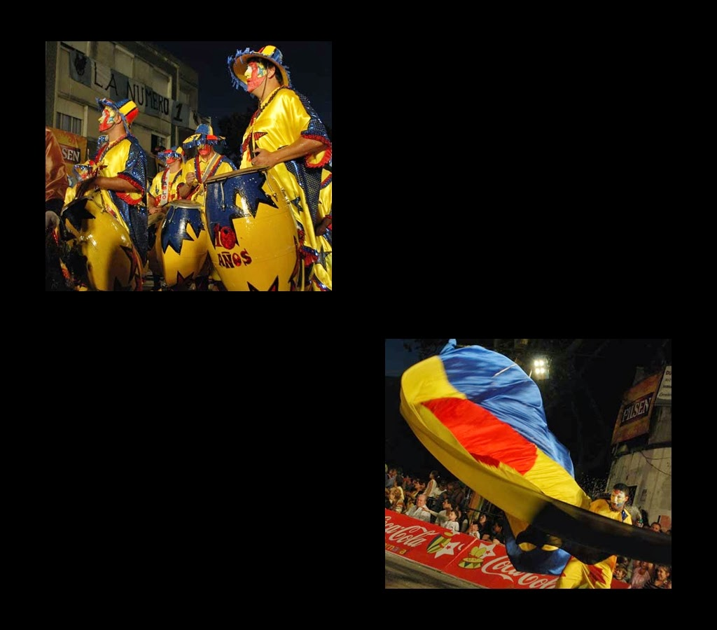 Desfile de Llamadas.La Zabala. Montevideo. 2011.