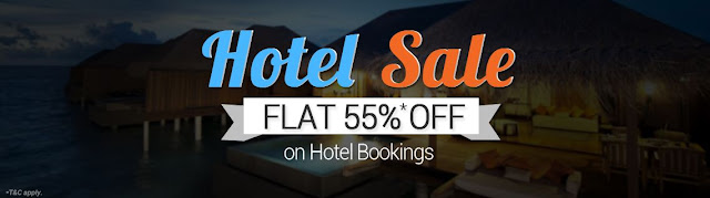 [Promocode] Flat 55% off on Domestic Hotels Booking via Goibibo valid till 25th June 2015
