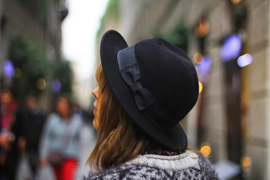 hat street style myberlinfashion milan fashion week street style