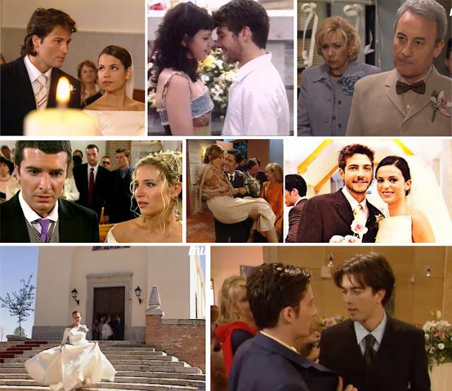 Mateo y Miranda, Álex y Jero, María e Íñigo