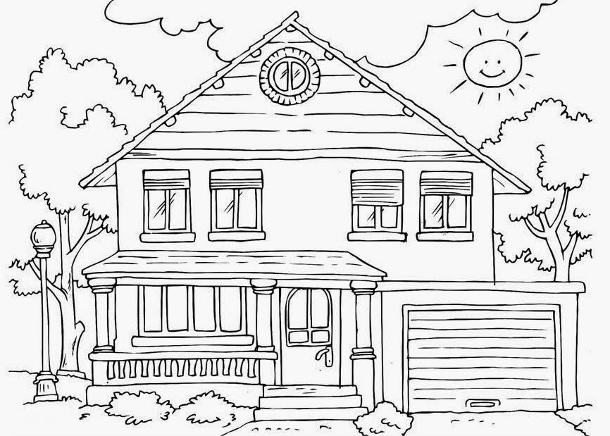 Gambar Pemandangan Rumah Hitam Putih Brad Erva Doce Info