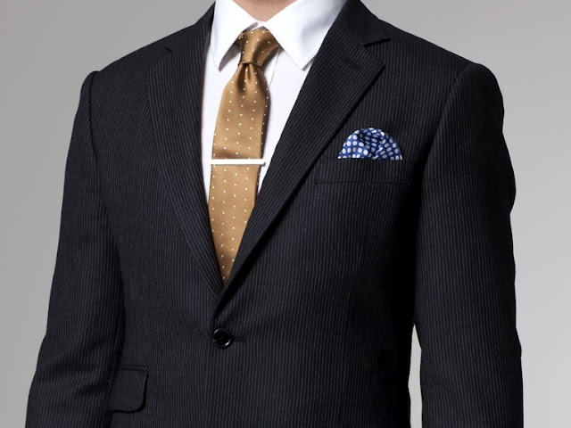 Charcoal Flannel Indochino Suit