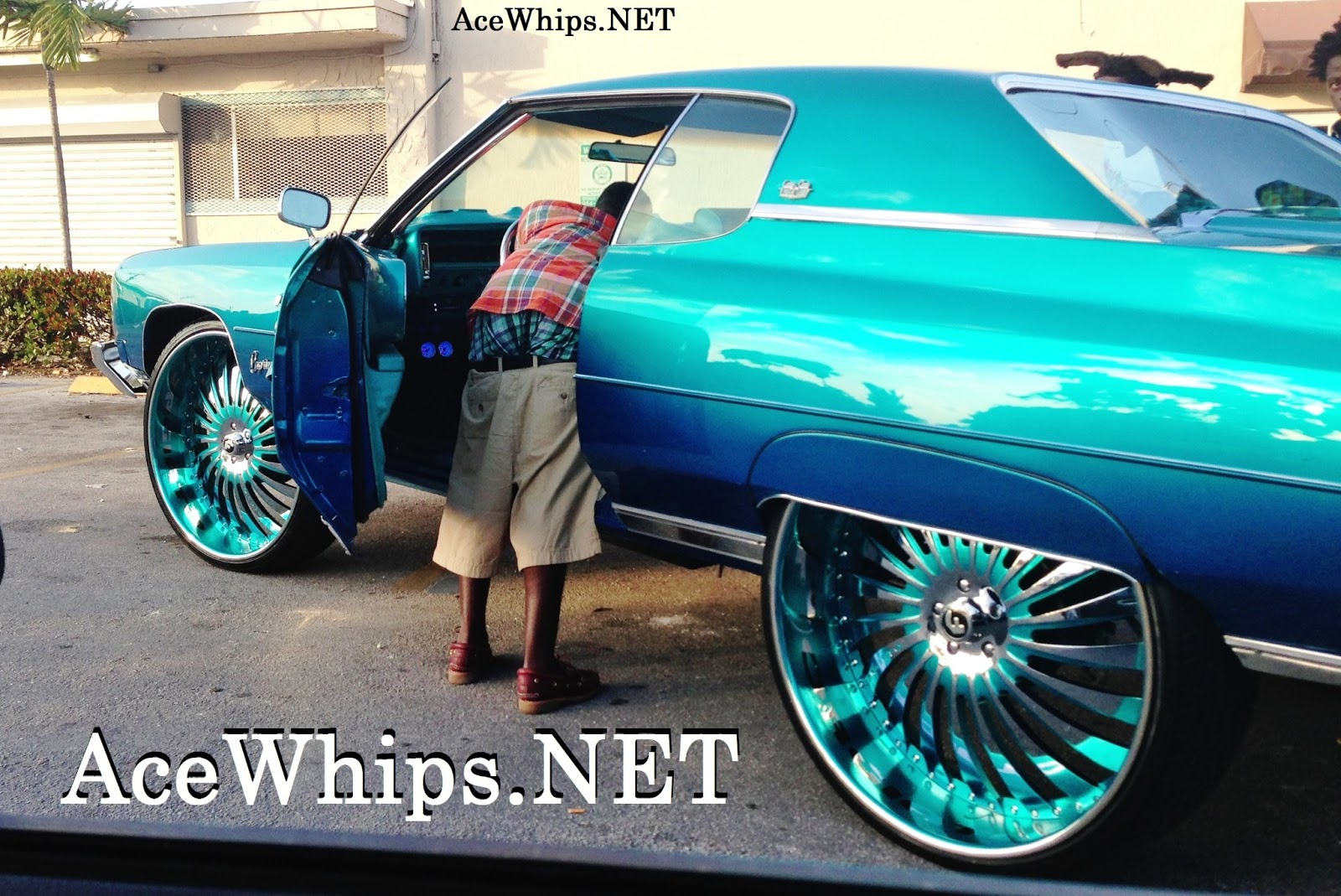 Chevy Donk On 30s