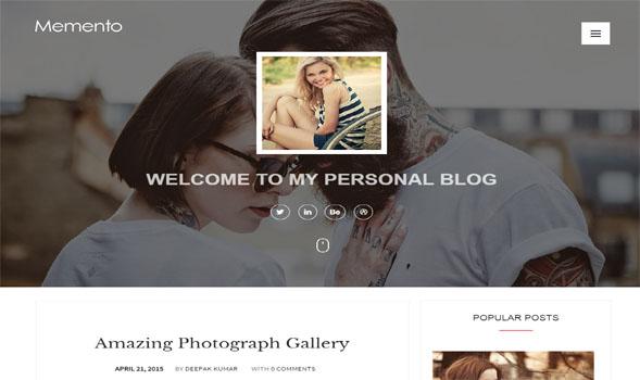 Memento-Responsive-Blogger-Template
