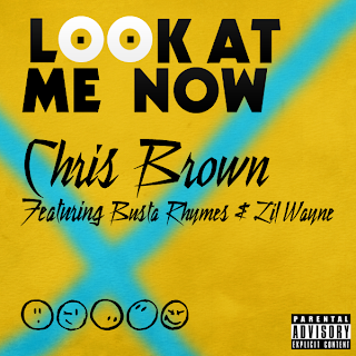 Chris Brown Look At Me Now Image Cover