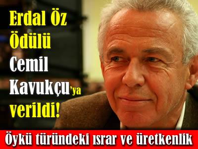 2013 Erdal Öz Edebiyat Ödülü Cemil Kavukçu