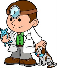 Resultado de imagem para desenhos de médico veterinário