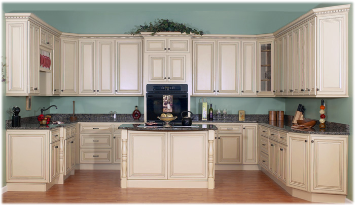 Chocolate Glaze Kitchen Cabinets