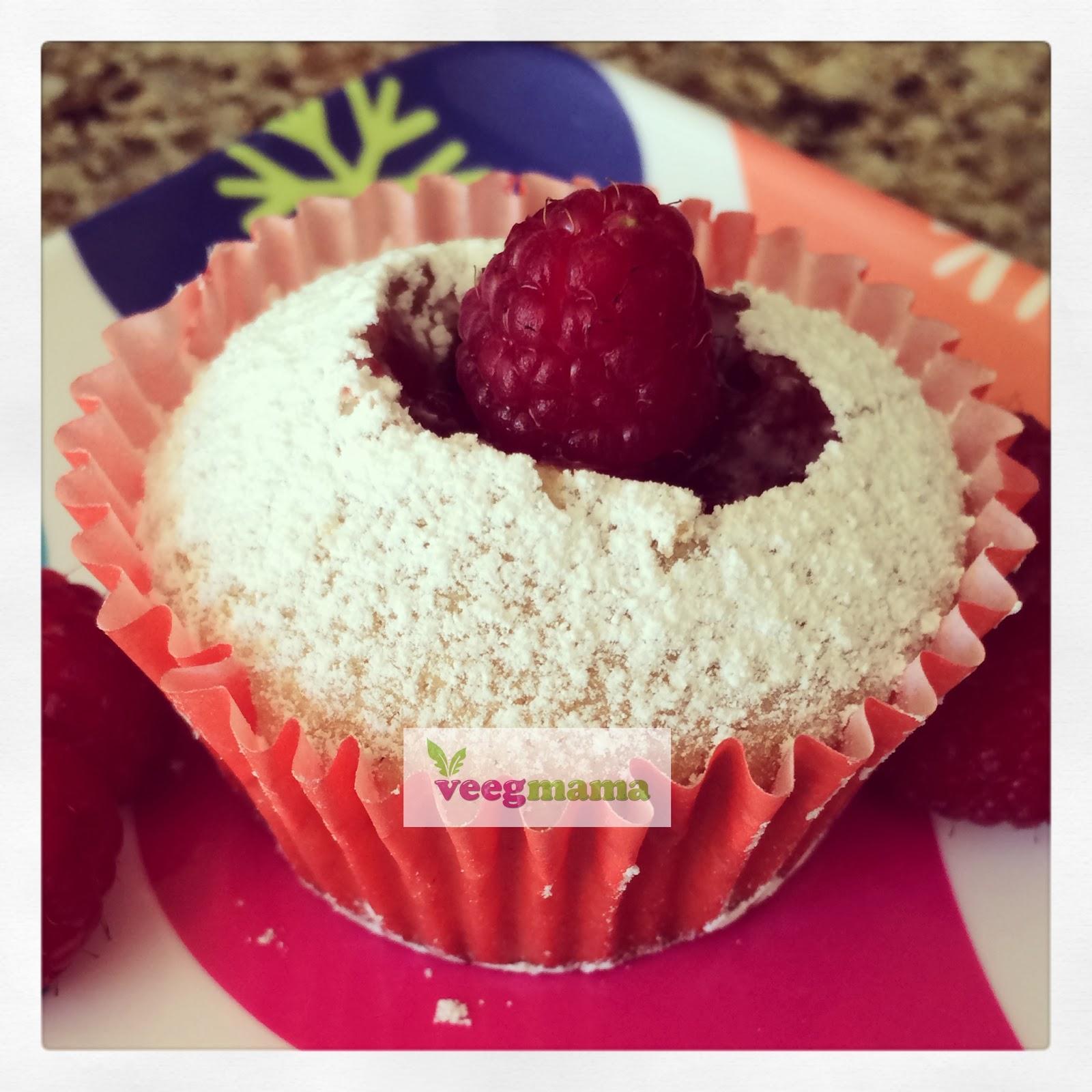 Vegan and Gluten-Free Vanilla Raspberry Cupcakes