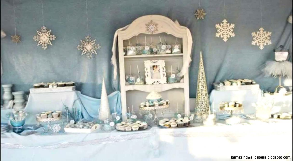 Stunning Winter wonderland party decorations ideas   YouTube