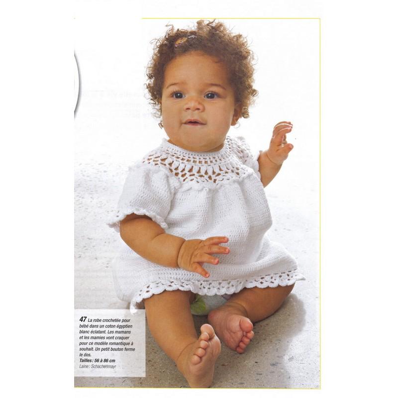 Ruffled Crochet Baby Dress Pattern Easy Crochet Patterns