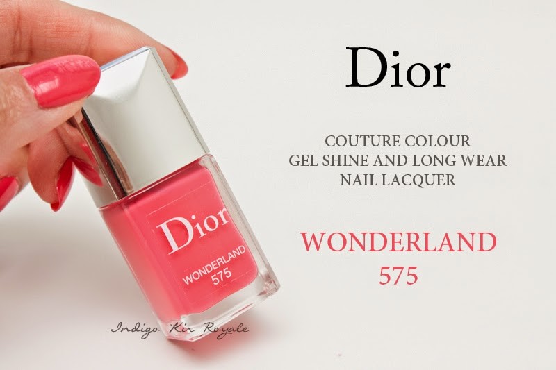 DIOR COUTURE COLOUR GEL SHINE AND LONG WEAR NAIL LACQUER IN ...
