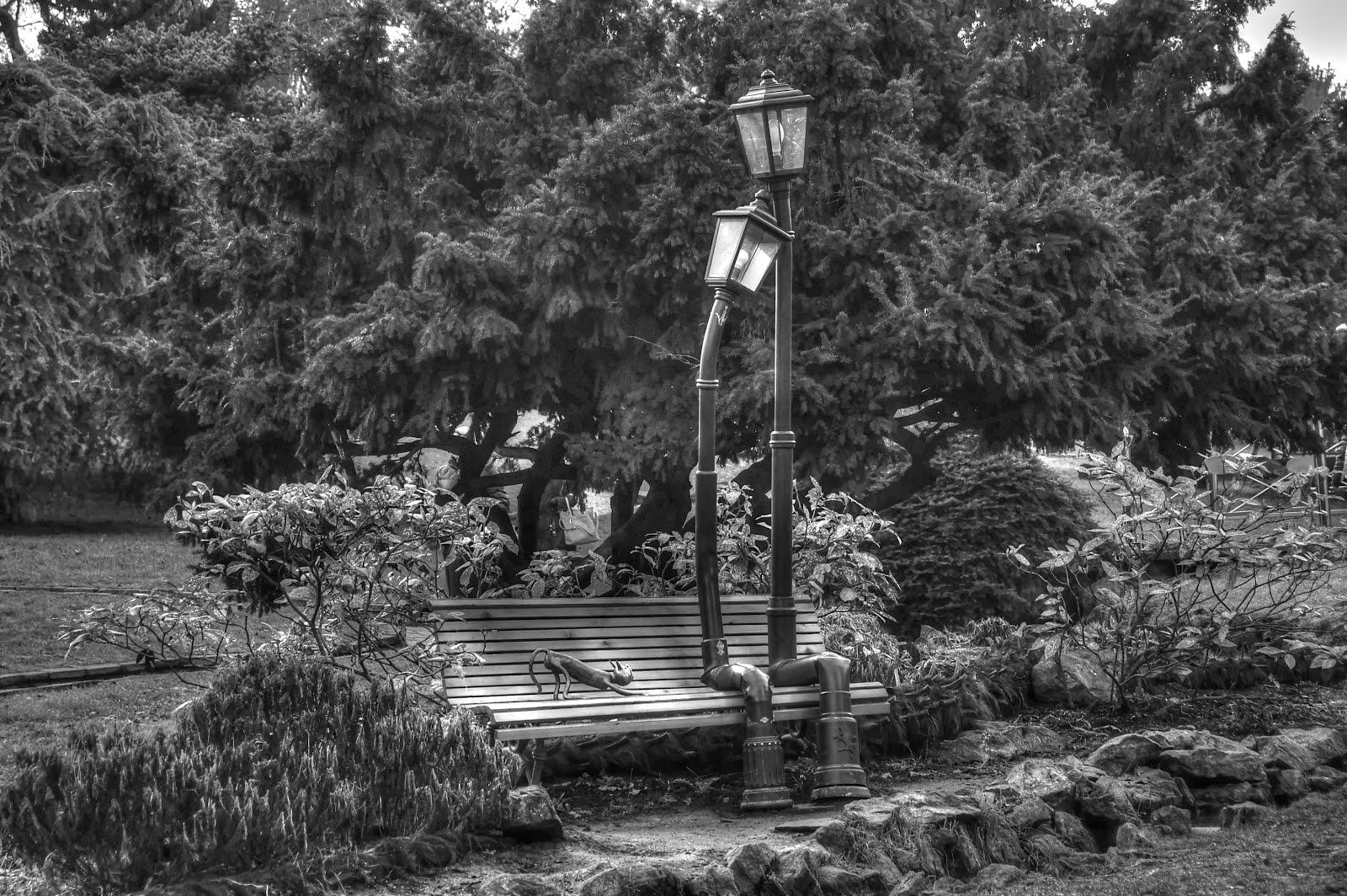 Panchina Con Lampioni Seduti : Torino lampioni innamorati al parco del valentino